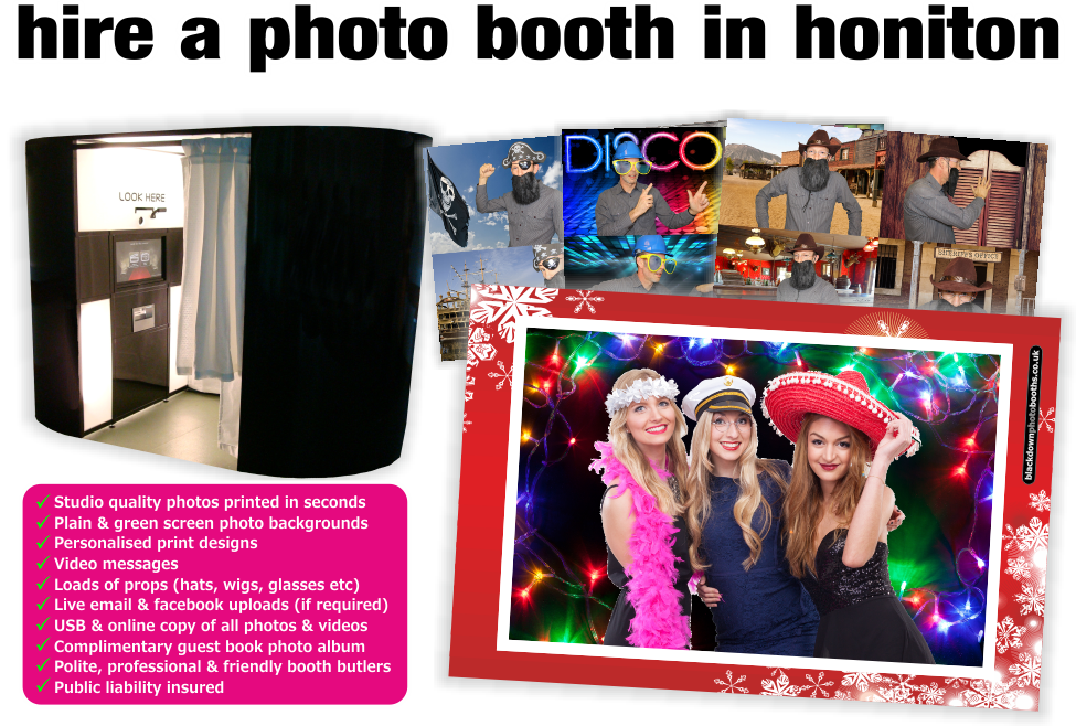 Honiton Photobooth & Photo Booth Hire, Honiton, Devon